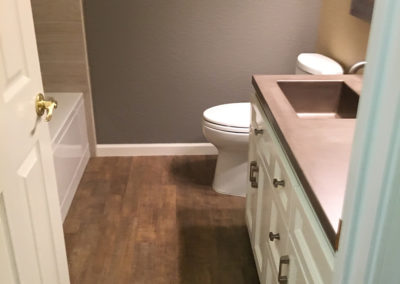 Bathroom Home Remodeling Project from Lawler Construction (2)