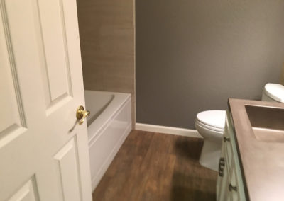 Bathroom Home Remodeling Project from Lawler Construction (4)