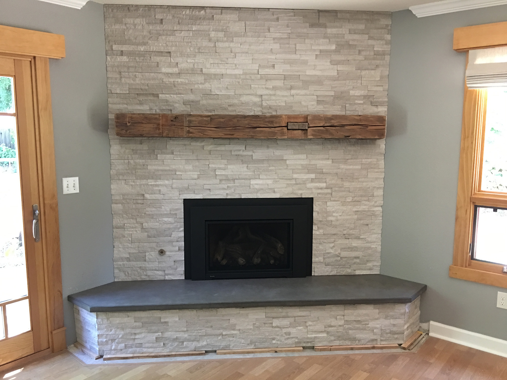 Concrete Fireplaces And Hearths Lawler Construction