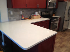 Large Concrete Countertop