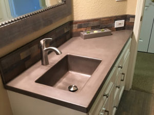 Custom Concrete Countertops in Palo Cedro CA
